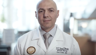 Image of Dr. Ezra Cohen, leader in cancer immunotherapy at UC San Diego Health
