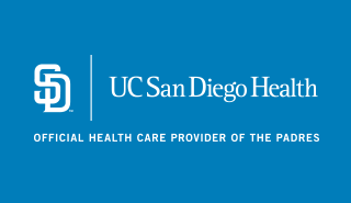UC San Diego Health Official Health Care Provider of the Padres