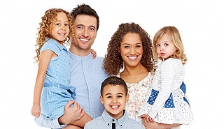 family with kids insurance