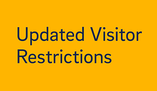 Updated Visitor Restrictions