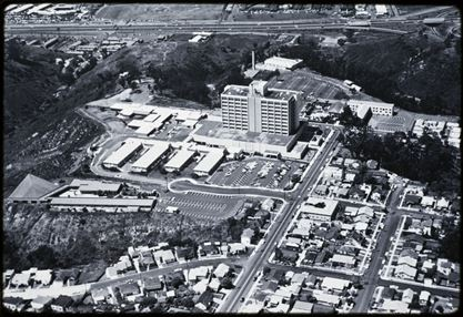 UC San Diego Medical Center circa 1968