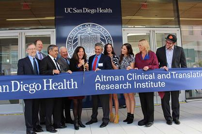 Ribbon-cutting for new translational research center in La Jolla