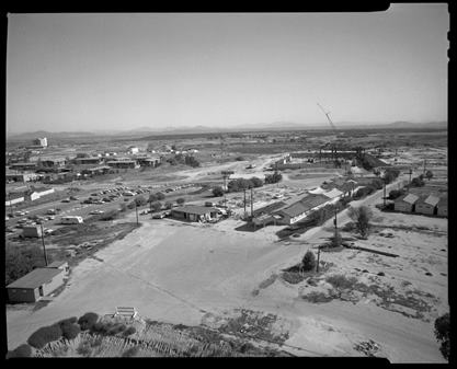 construction of VA hospital 1968