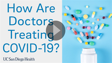 Video: How are doctors treating covid 19? Click to play