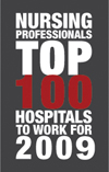 Nursing Professionals' Top 100 Places to Work 2009