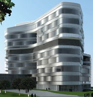 Rendering Jacobs Medical Center