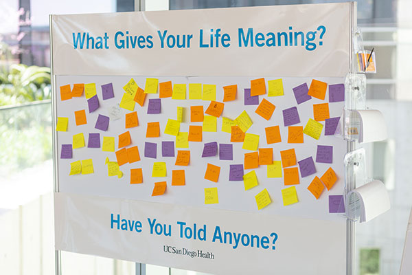 what gives your life meaning billboard