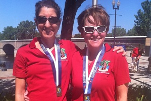 Conna and Louise - Transplant Games 2012
