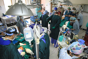 Malawi surgical team