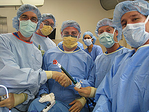 NOTES surgical team