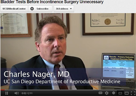 Nager on YouTube Bladder Testing
