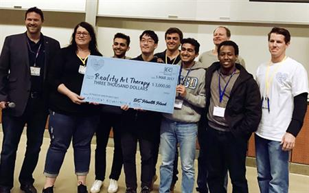 2017 UC Health Hack winners
