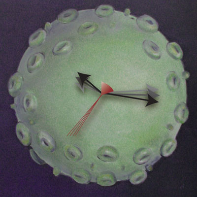 HIV epigenetic clock