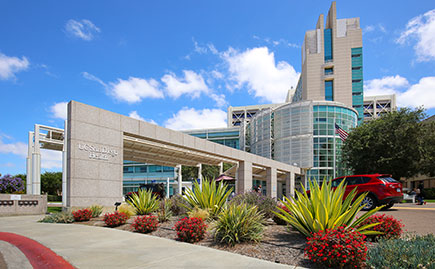 UC San Diego Medical Center in Hillcrest