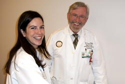 Dr. Amber Sanchez and Dr. David Ward, UC San Diego Apheresis Program Directors