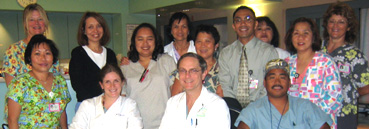 The Regional Burn Center Team at UC San Diego Health System.