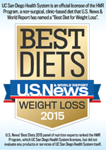 U.S. News & World Report Best Diets badge
